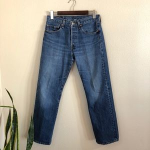 •LEVI'S• Men's Vintage 501 Button Fly Jeans